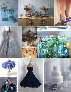 Color Board – Classic Blue for Spring and Summer » Alexan Events | Denver Wedding Planners, Colorado Wedding and Event Planning