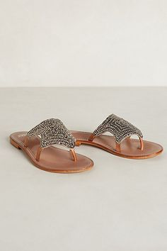 Beaded Starlight Slides #anthrofav #greigedesign