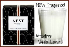 Attention vanilla lovers! NEST Fragrances launched Vanilla Orchid & Almond this year! A blend of ooey gooey goodness! Check out this soon to be favorite here! ----> http://www.candlesoffmain.com/nest-fragrances-vanilla-orchid-almond-candle.aspx