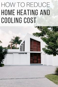 Energy-efficient home DIY from The Wardrobe Stylist. Build a modern energy-efficient home and reduce home heating and cooling cost with reflective insulation. Ideas for sustainable deisgn #HomeDesign #EnergyEfficientHome #Renovations