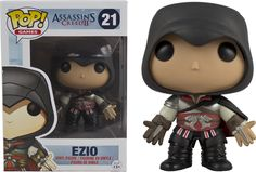 Assassin's Creed - Assassin's Creed 2 - Black Ezio Pop! Vinyl Figure by Funko