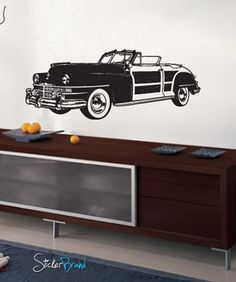 Vinyl Wall Decal Sticker Classic Woody Car #671