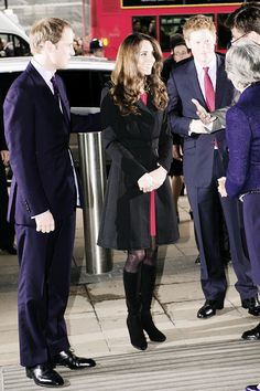 anythingandeverythingroyals: The Duke and Duchess of Cambridge and Prince Harry