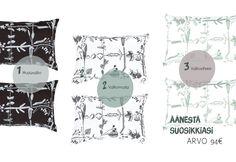 Weecos x mOderneko g i v e a w a y : win the cutest Saana ja Olli Myrskyn jälkeen pillow covers Pillow Covers, Pillows, Random, Cute, Pillow Case Dresses, Pillow Shams, Kawaii, Cushions, Pillow Forms