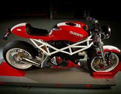 Ducati ST conversion kit Ducati Desmo, Ducati 750, Ducati Motorcycles, Custom Cafe Racer, Cafe Racer Bikes, Cafe Racers, Ducati Monster 821, Ducati Monster Custom, Retro Motorcycle