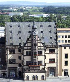 Rathaus, Schweinfurt Germany.  Miss my Germany Days