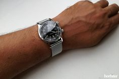 Longines Heritage Legend Diver - Hands-on with the Legend Diver on a Milanese mesh bracelet, now an all-round timepiece