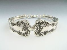 Fork and Spoon Jewelry: Sterling Silver - Spoon Bracelet    Gorgeous!