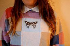 Butterfly knit