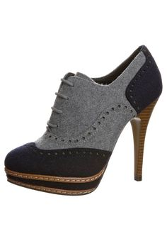 High Heels, shoes, vintage look, grey and black, looooove