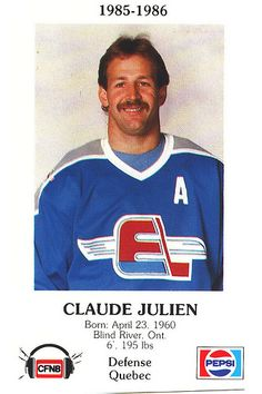 Claude Julien-love it!