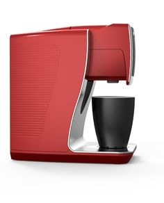 coffee maker - Compare Price Before You Buy Coffee Machine Design, Pod Coffee Makers, Id Design, Simple Shapes, Minimal Design, Best Coffee, Industrial Design, Kitchen Design, Cool Designs