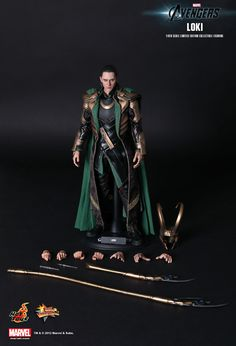 Hot Toys : The Avengers - Loki 1/6th scale Limited Edition Collectible Figurine