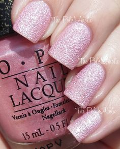 The PolishAholic: OPI Bond Girls Collection Swatches - Pussy Galore .this can't be real xD Get Nails, Love Nails, How To Do Nails, Hair And Nails, Fabulous Nails, Gorgeous Nails, Pretty Nails, Amazing Nails, Opi Nail Polish
