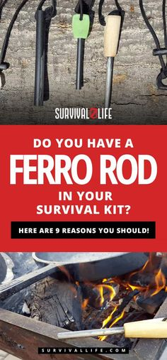 Do You Have A Ferro Rod In Your Survival Kit? Here Are 9 Reasons You Should!