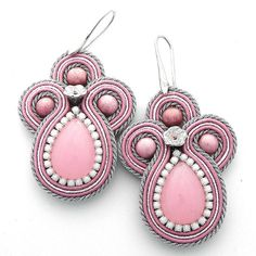 Orecchini soutache earrings Candy Nuove Fatte a by ClassArte