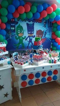 Pj Mask Party Decorations Pj Masks Birthday Cake  My Creations  Pinterest  Pj Masks