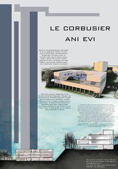 #architecture #presentation #lecorbusier #photoshop #section #pafta #mimari