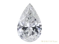 GIA 1.24 CT Pear Cut Solitaire Ring Sold at Auction for $2,924
