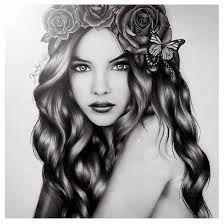 Resultado de imagem para curly hair drawing