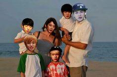 Teen Top happy family/? OMG hahahah lol XD | CAP, Chunji, L.Joe, Niel, Ricky, Changjo | Kpop memes Kpop Macros