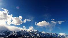 Grand Teton Midday [ APRIL 4 ] Teton Tube, Time-lapse