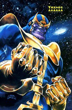 Thanos by Ray Lago. The next Avengers villian.