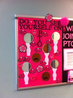 Do you see yourself on the #PTO or #PTA?  #bulletinboard