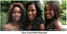 Afro Colombians | http://www.beyondblackwhite.com/care-afro-latina-sisters photography