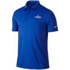 Chicago Cubs Nike Golf 2016 World Series Champions Victory Performance Polo - Royal - $48.99