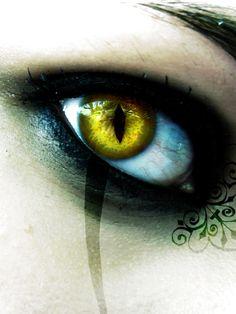 Demon Eyes   Demon eye by DarkAsteria