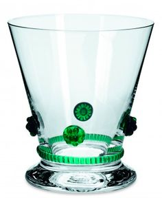 #Theresienthal Bacchus #Glassware Green. Available at Kneen & Co!