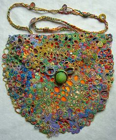 textile  An Exhibition of Contemporary Textile Art was held in 2007 at the Pittenweem Arts Festival. A wide range of innovative and exciting textile work was shown ~ including this evening bag ...