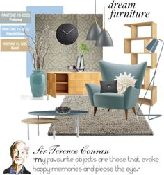 """""""Inspired by Terence Conran Furniture Design"""" by ollie-and-me on Polyvore"""