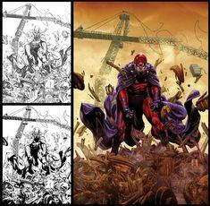 Magneto cover by diablo2003 on DeviantArt