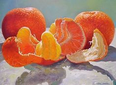 Everyone likes the nice scent of tangerine peel, but almost no one is aware of its numerous incredible benefits. Tangerine peel has numerous surprising uses, so continue reading the article below to learn more about Realistic Oil Painting, Fruit Painting, Fruit And Veg, Fruits And Veggies, Healthy Tips, Healthy Recipes, Healthy Eating, Ver Video, Watercolor Fruit