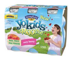 Stonyfield Organic YoKids Smoothies Giveaway
