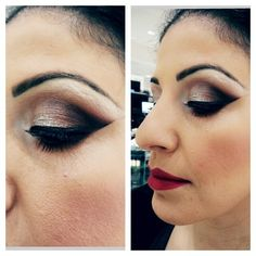 My client from yesterday @mac_elcajon #artistrybycecilia #Padgram