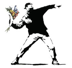 Maybe we should all just throw each other flowers instead.lool