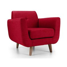 Macey Armchair Red