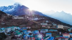 Most Attractive Places in Nepal: Namche Bazaar