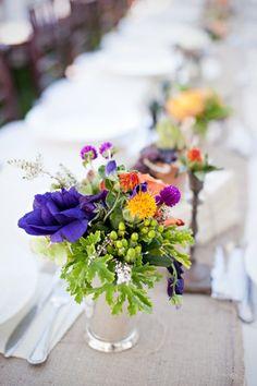 Floral Centerpieces We Love Wedding Flowers Photos on WeddingWire
