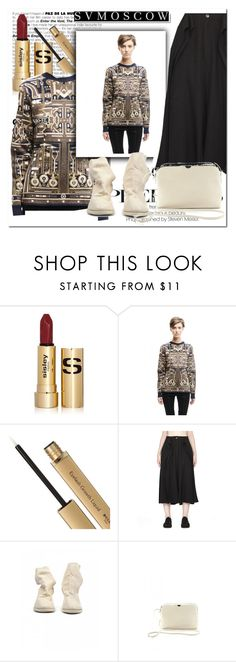 """SVMOSCOV"" by sabine-rose ❤ liked on Polyvore featuring Sisley, Mary Katrantzou, DAMIR DOMA, Guidi, White Label and The Row"
