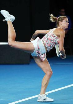 Camila Giorgi, Wta Tennis, Sport Tennis, Female Volleyball Players, Tennis Players Female, Tennis Pictures, Beauté Blonde, Dancer Photography, Sport Gymnastics