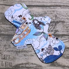 Products | Cloth Pad Shop Menstrual Pads, Cloth Pads, Palm Beach Sandals, Make Your Own, Sustainability, Daisy, Women's Fashion, Bird, Pattern
