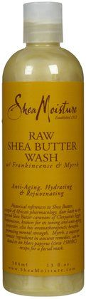Shea Moisture Raw Shea Butter Body Wash... best stuff for baby and you!!!!!
