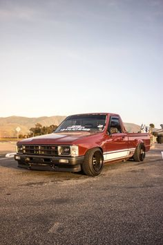 My beloved grandmother had one & I'd drive it when I visited her in San Francisco. She was such a lady. Nissan Trucks, Toyota Trucks, Lifted Ford Trucks, Pickup Trucks, Bagged Trucks, Mini Trucks, Custom Trucks, Custom Cars, Drift Truck
