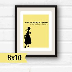 Anne of Green Gables  Inspirational Quote  by PaperFinchOutlet, $9.00
