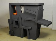 Portable Office made from EPS Foam!