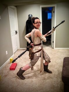 A $260 budget DIY Rey costume? Seriously? SERIOUSLY? Seriously. Here's my build, using inexpensive and easy-to-find materials.
